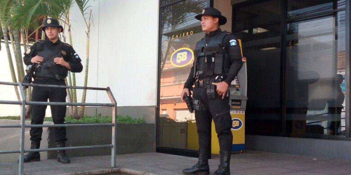 PNC realiza operativos como parte del plan de seguridad de fin de año