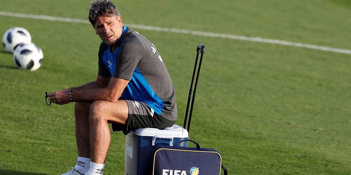 Antes de 'jogo da vida', Renato reafirma ter sido melhor que Cristiano Ronaldo