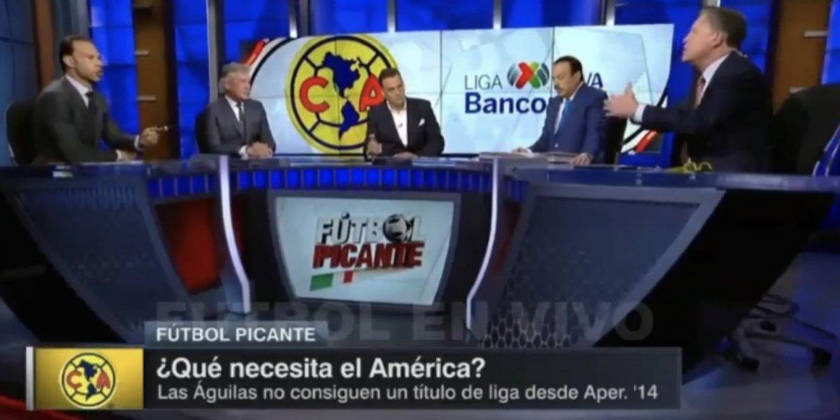 VIDEO: Zague y Peláez explotan en programa de televisión