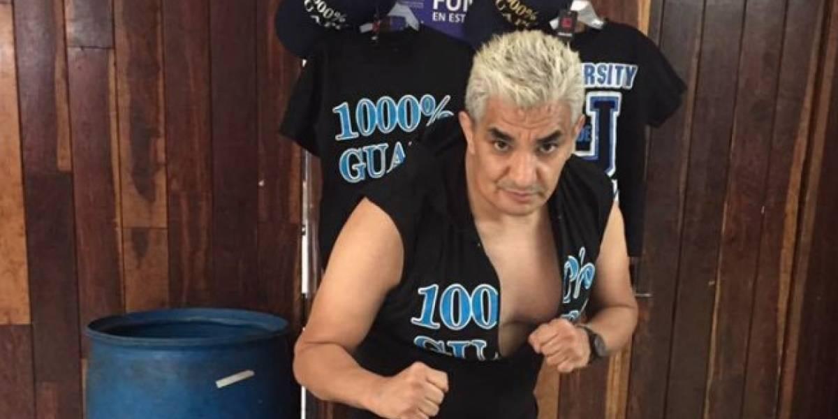 Shocker anuncia la muerte de su padre, el 'Pato' Soria