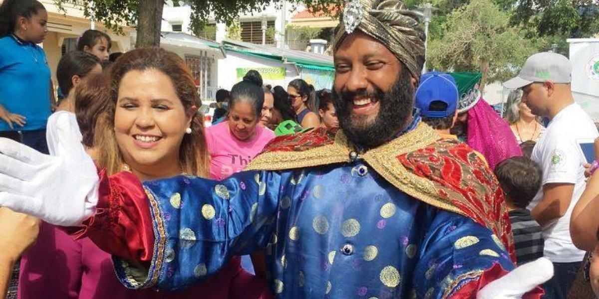 Reciben en Jayuya a los Reyes Magos de Juana Díaz