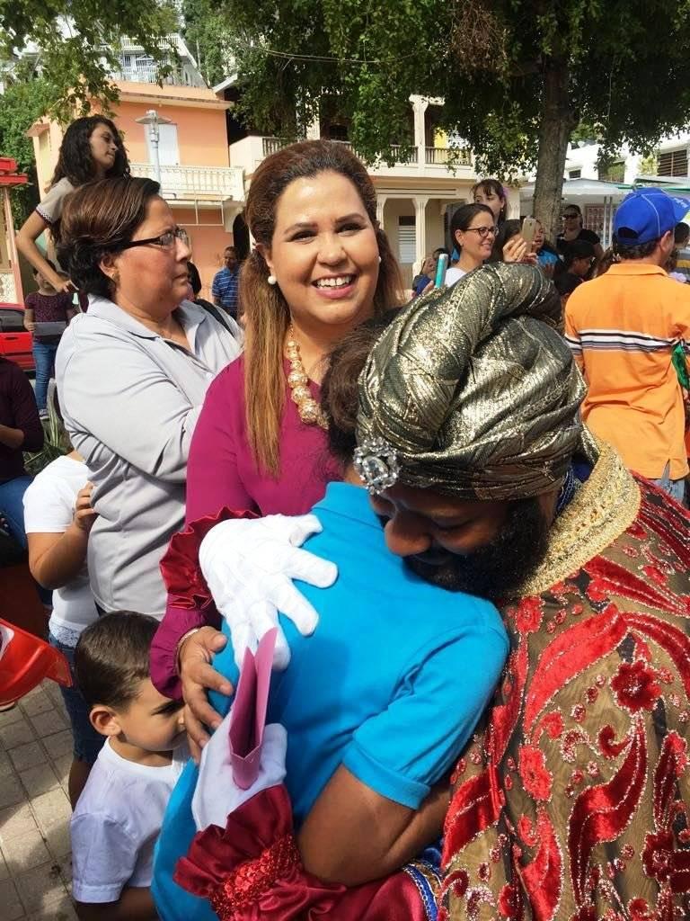 Reyes Magos de Juana Díaz en Jayuya