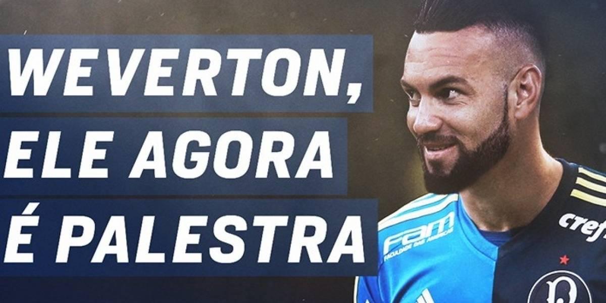 Palmeiras anuncia a contratação do goleiro Weverton