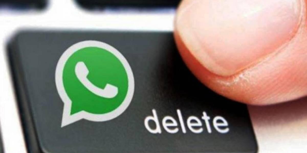 Cómo limpiar toda la basura de WhatsApp