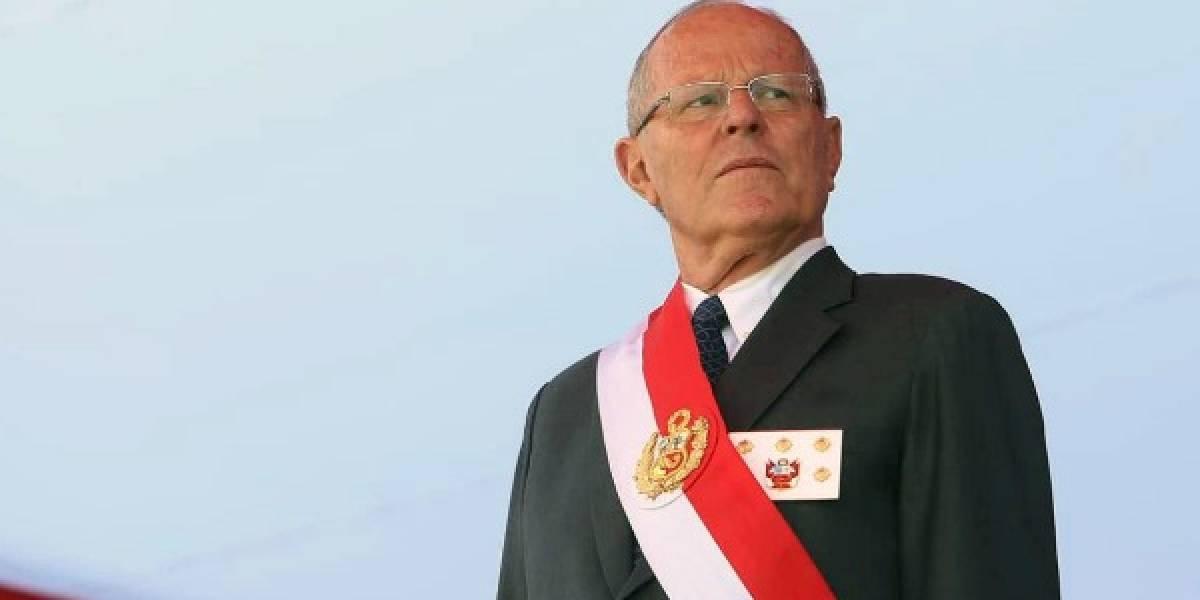 """Caso Odebrecht: Congreso peruano debatirá el 21 de diciembre la destitución de Kuczynski por """"incapacidad moral"""""""
