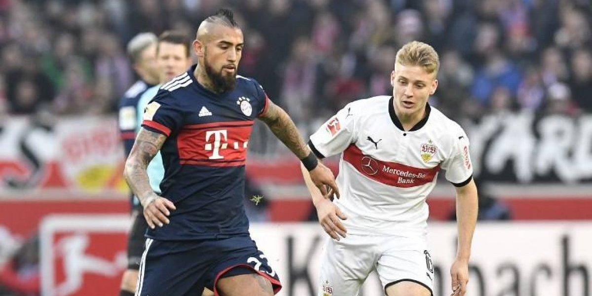 Bayern Munich sufrió hasta el último segundo para vencer y seguir de líder en la Bundesliga