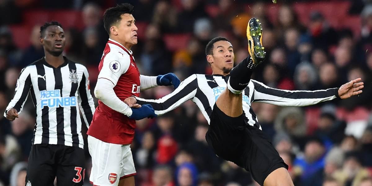 Arsenal venció sufriendo al Newcastle y con Mesut Özil y Alexis Sánchez como figuras