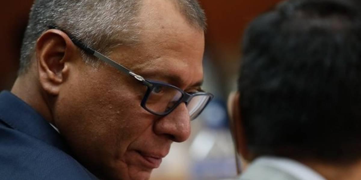 Jorge Glas fue trasladado esta madrugada a Quito, según su abogado Eduardo Franco