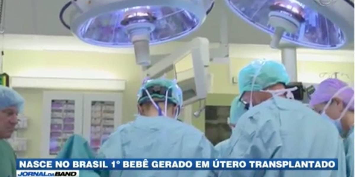 Nasce primeiro bebê gerado em útero transplantado no Brasil