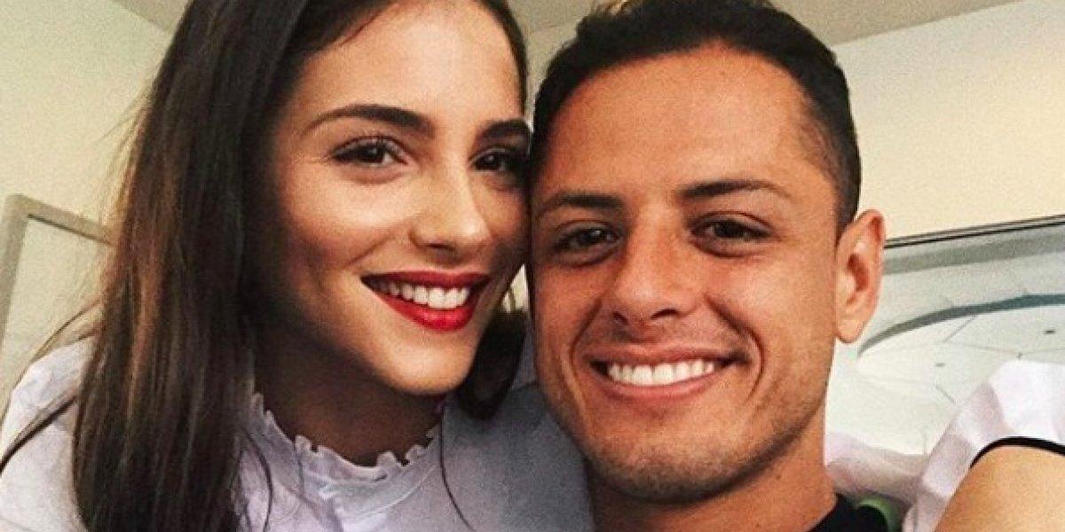 El tierno mensaje que 'Chicharito' le mandó a su novia