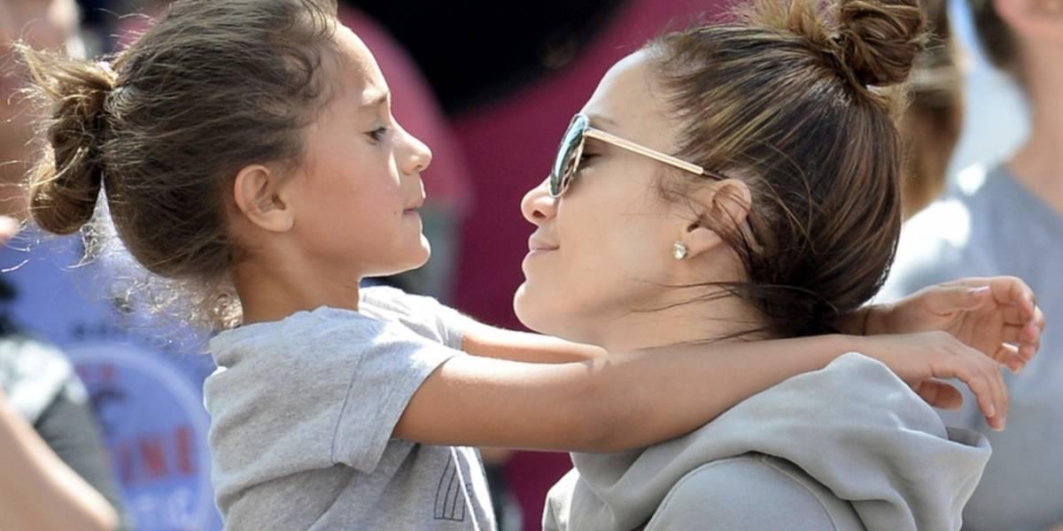 """Jennifer Lopez presume el talento oculto de su hija a la que todos llamaron """"fea"""""""