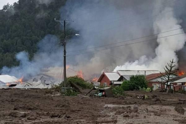 Aluvión al sur de Chile deja varios muertos y desaparecidos