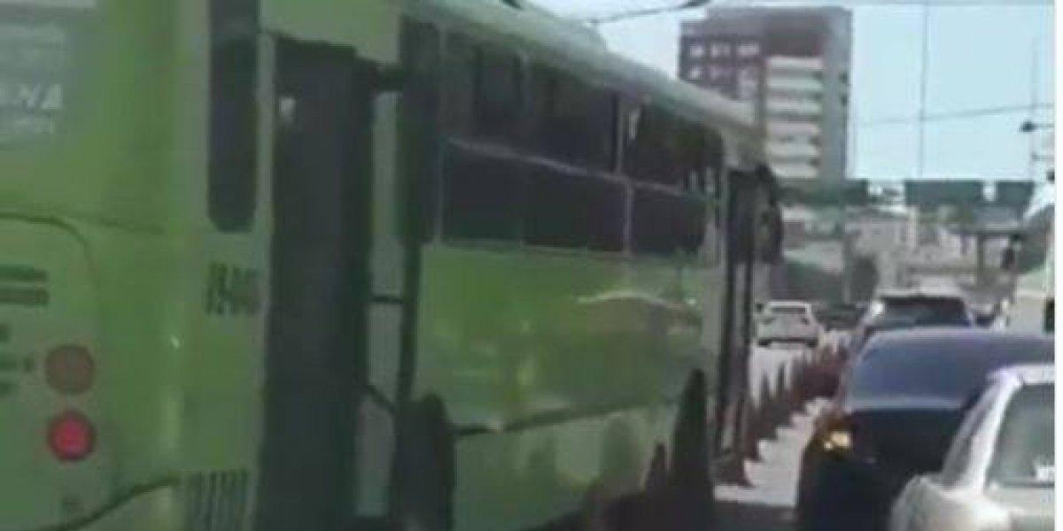 Amet solicita a la Omsa entregar conductor que violento conos en la 27 de Febrero para fines judiciales