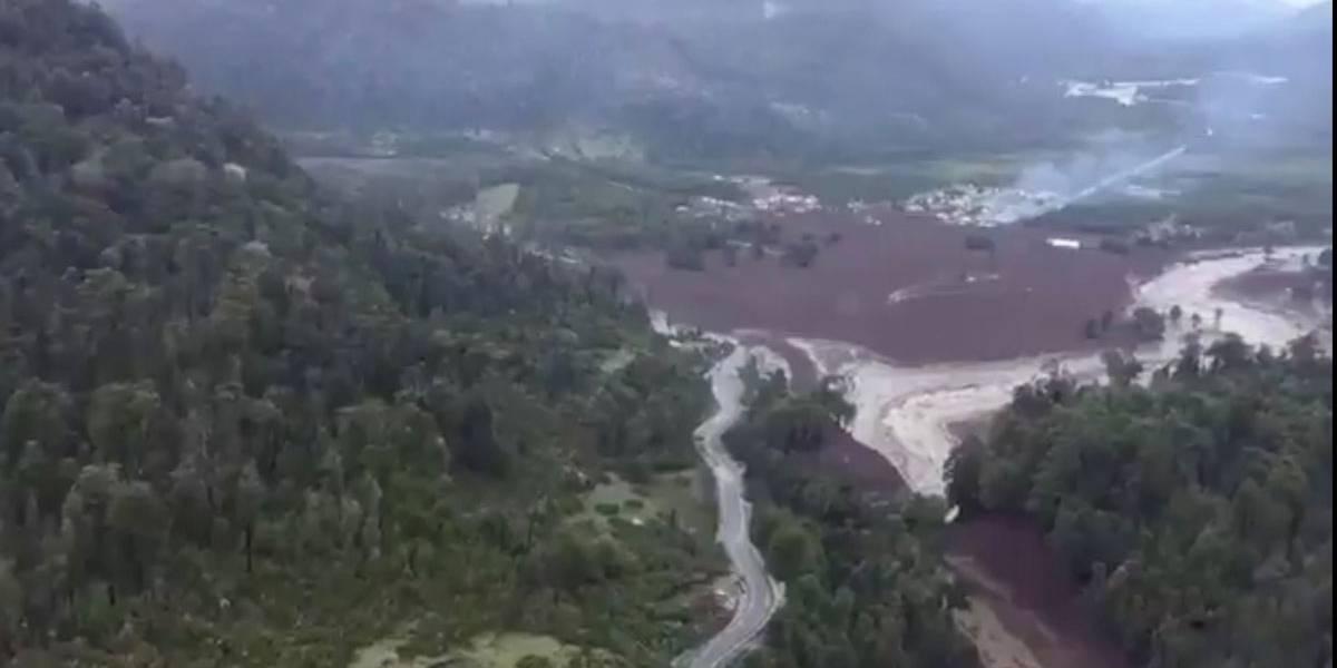 Deslizamento mata três pessoas e deixa ao menos 15 desaparecidos no sul do Chile