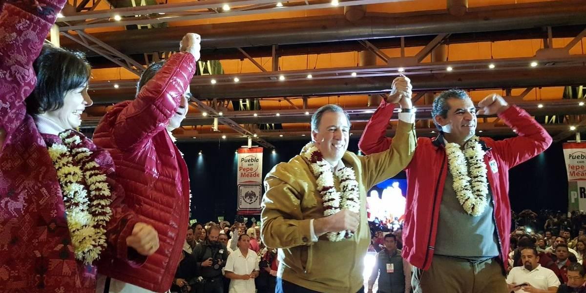 José Antonio Meade pide apoyo a simpatizantes en Puebla