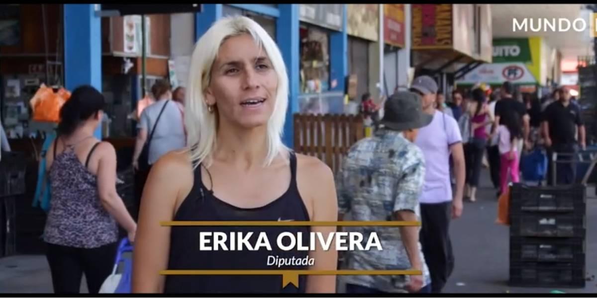 """Érika Olivera y las críticas en redes sociales: """"Muchas veces lo entiendo como la cobardía del ser humano"""""""