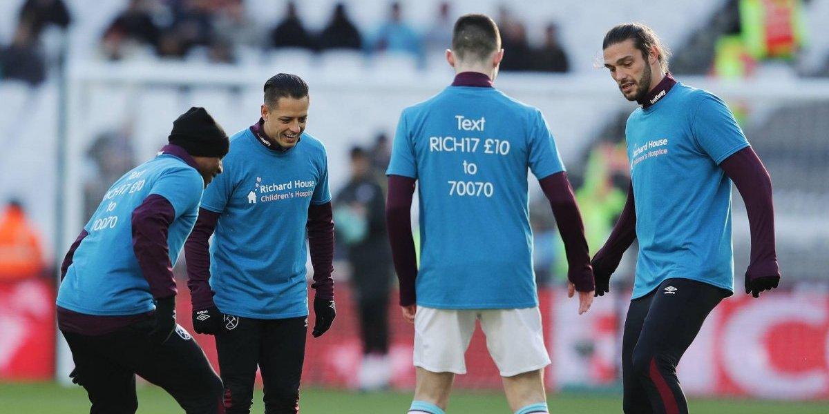 Portero del West Ham halaga al 'Chicharro' por su forma de ser