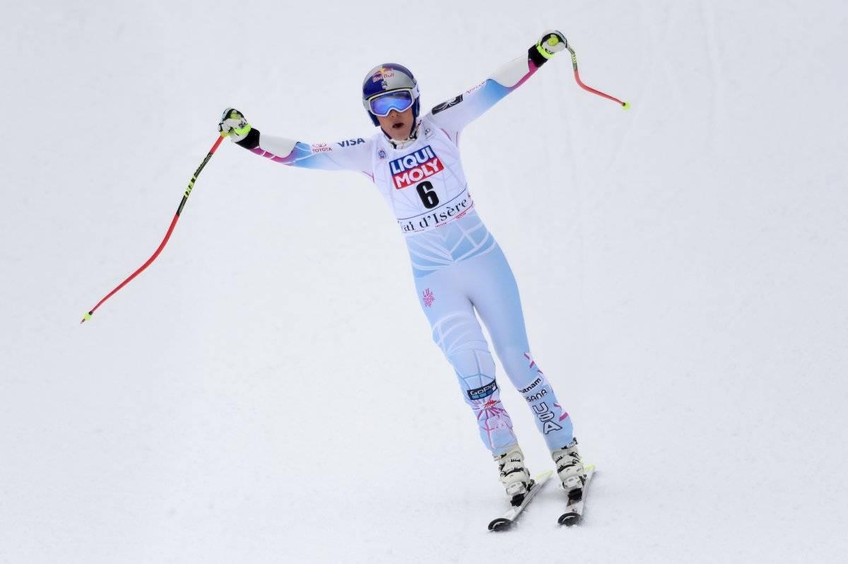 Lindsey Vonn conquista la Copa del Mundo de esquí alpino