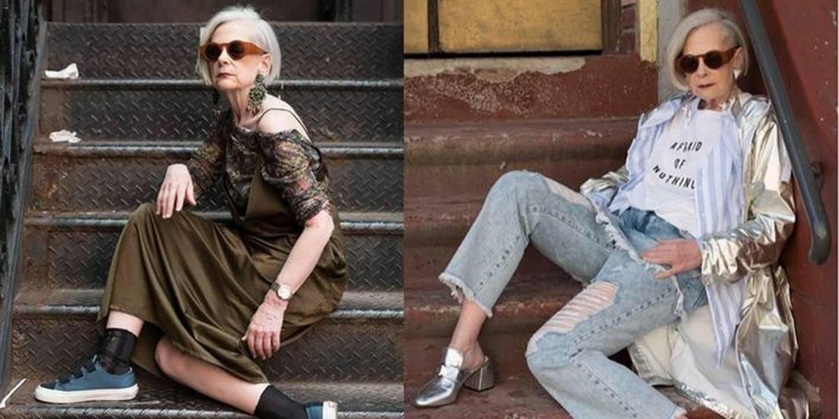 Aos 64 anos, Lyn Slater é a mais velha blogueira de moda a fazer sucesso
