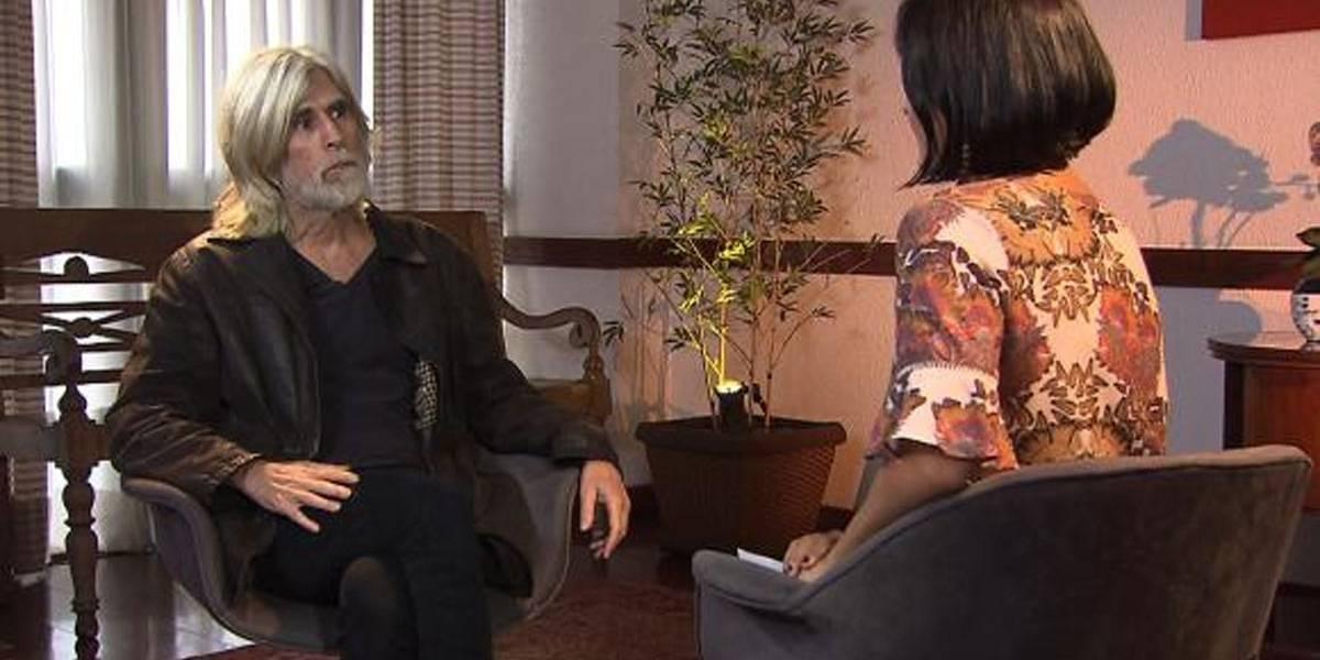"""""""Sou um conservador afetivo"""", diz o cantor Oswaldo Montenegro a Roseann Kenned"""