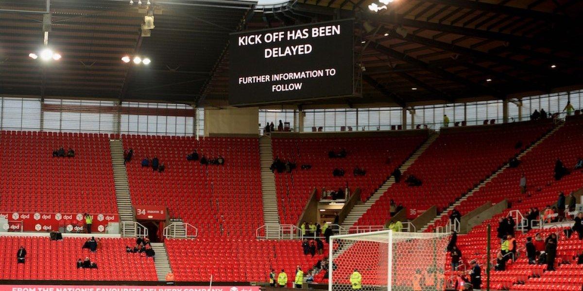 Retrasan una hora el Stoke-West Ham por un apagón eléctrico