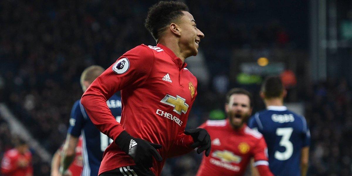 Manchester United venció al West Bromwich pero sigue lejos del City en la Premier