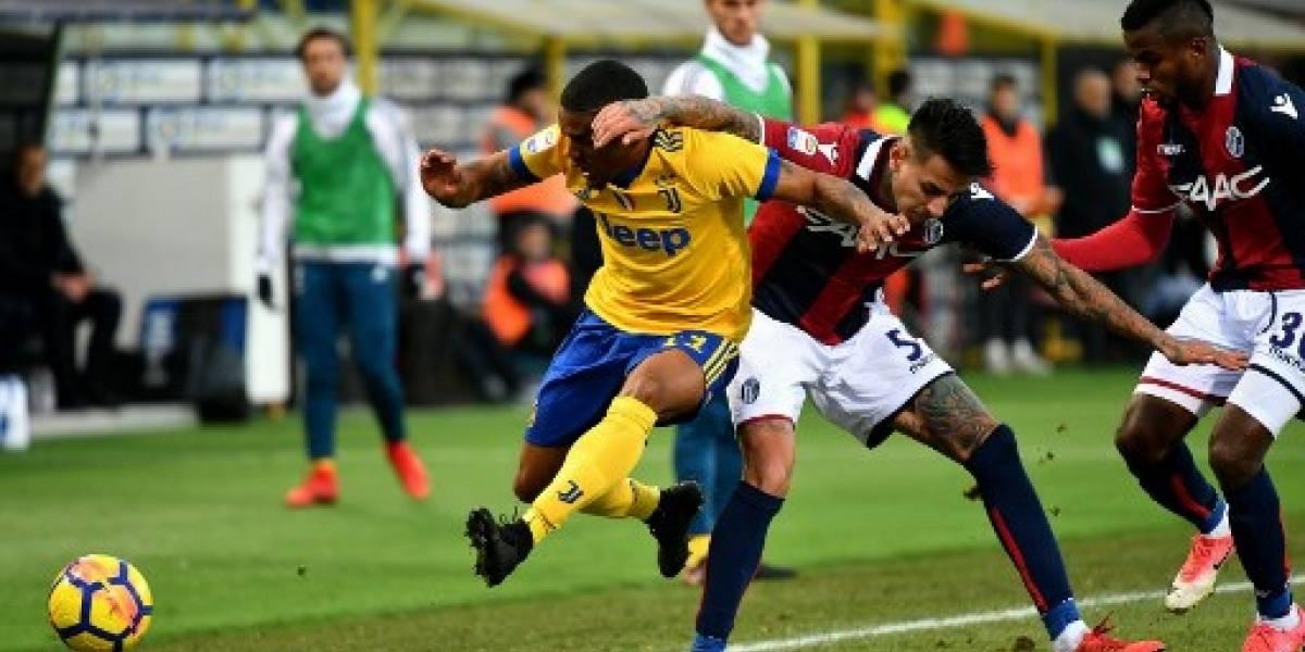 Erick Pulgar y Bologna cayeron ante la Juventus que se alza en el segundo lugar de Italia