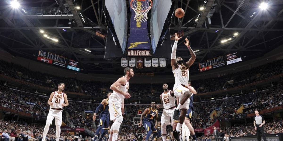 Luce James y los Cavs ganan en Washington
