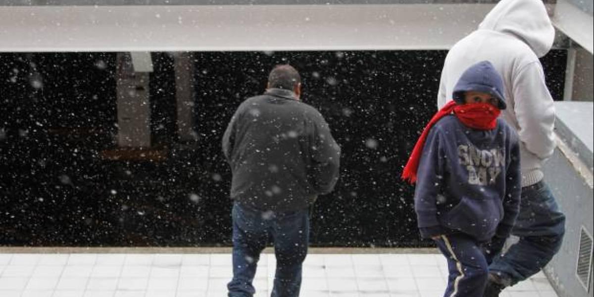 Alertan por nevadas y frío intenso en el norte del país