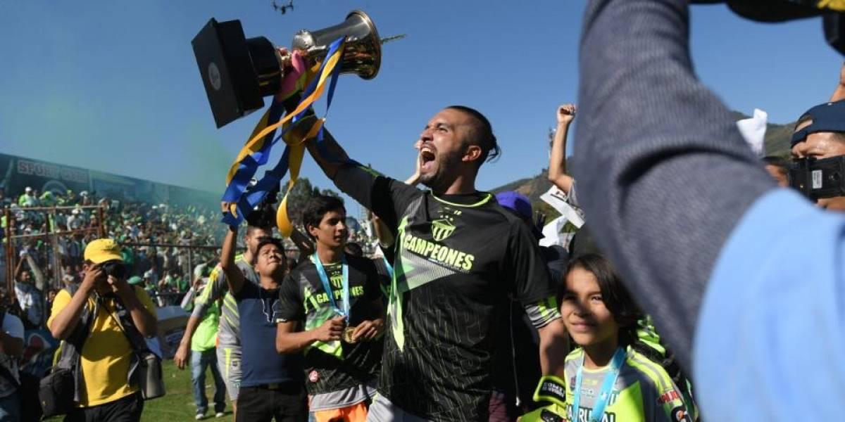 FOTOS. ¡Así celebró Antigua GFC la obtención del campeonato!