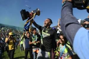 Antigua GFC celebra el título del Torneo Apertura 2017