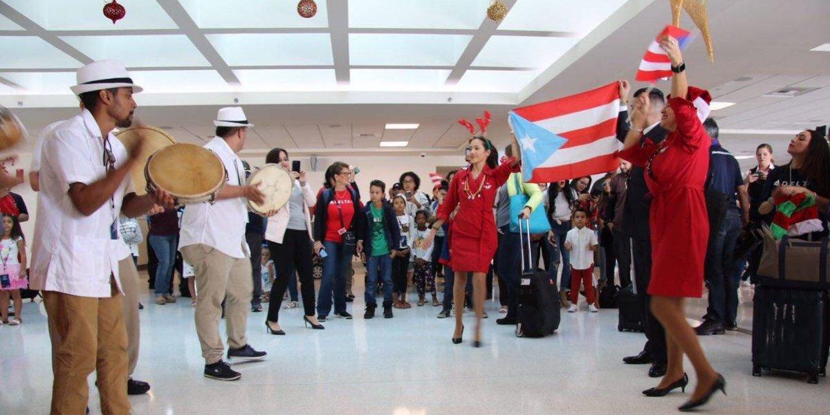 Delta comparte con niños de la Fundación San Jorge