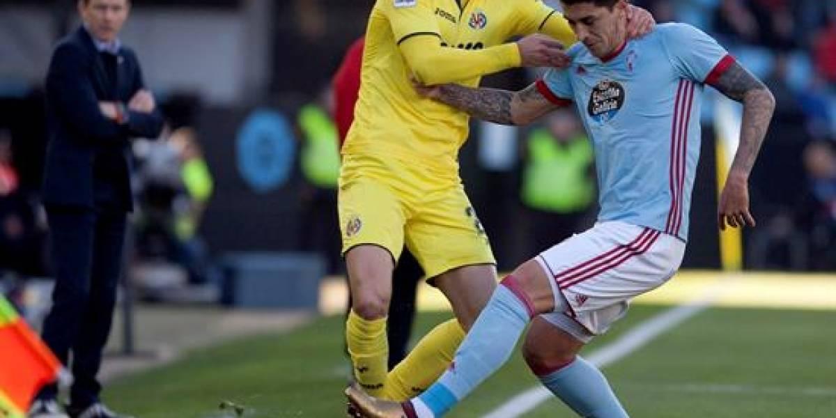 Celta de Pedro Pablo Hernández cayó ante Villarreal y se complica en la liga española