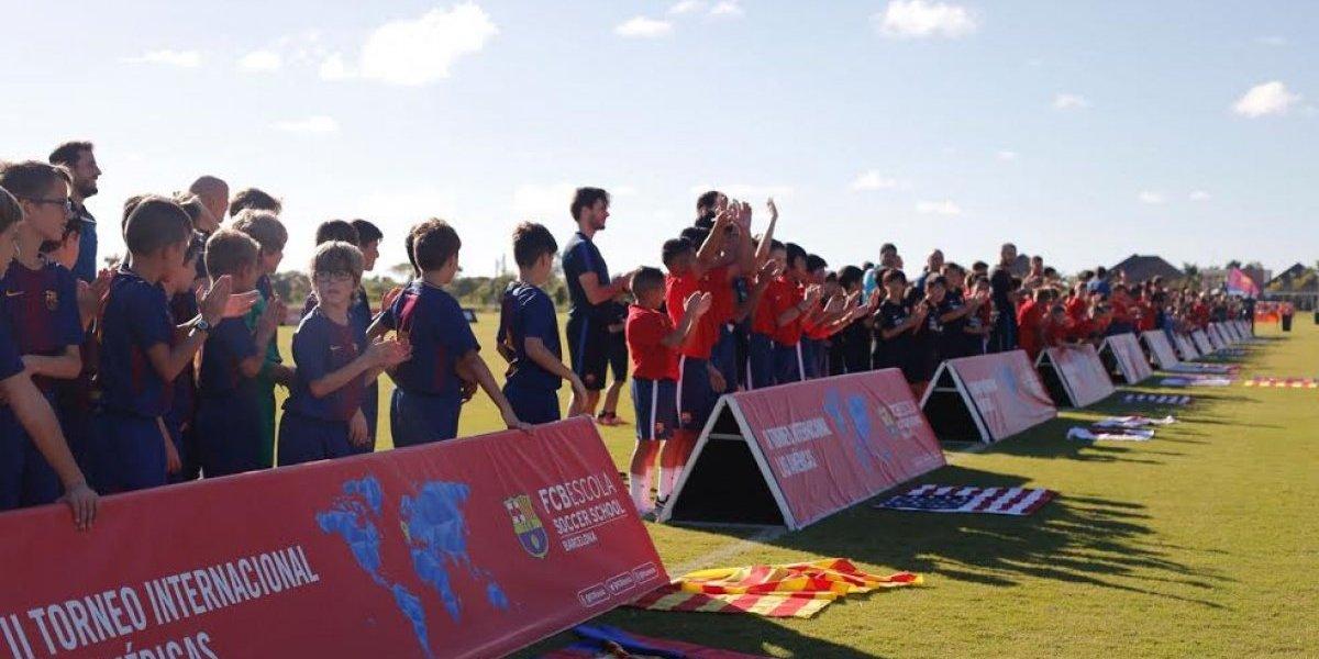 Inicia el II Torneo Internacional FCBEscola Las Américas