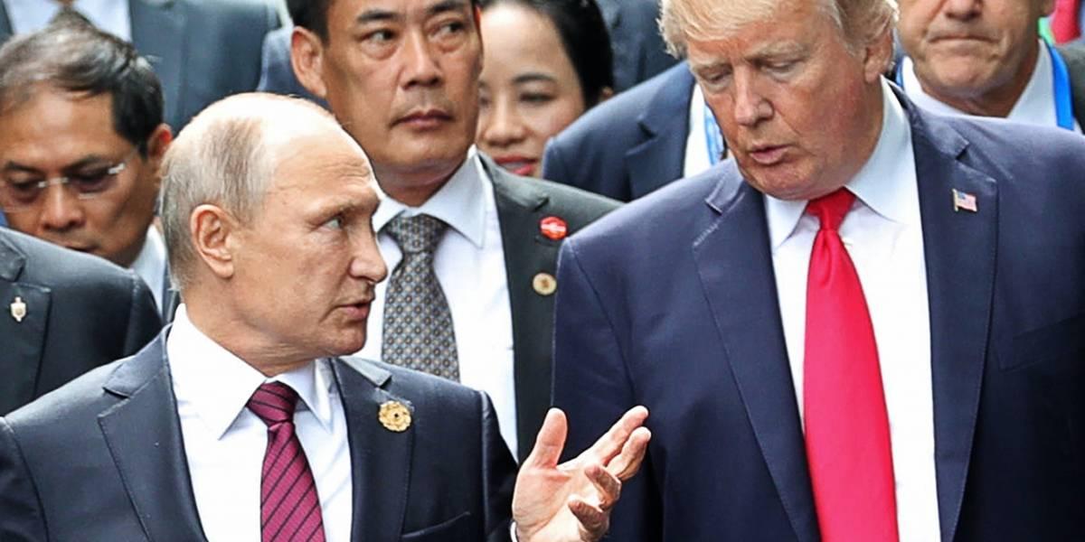 Putin agradece a Trump por ayuda para frustrar ataque terrorista en Rusia