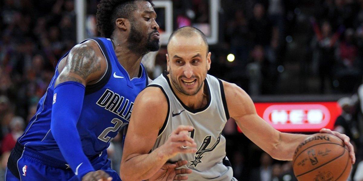 Spurs le sacan juego del buche a los Mavericks