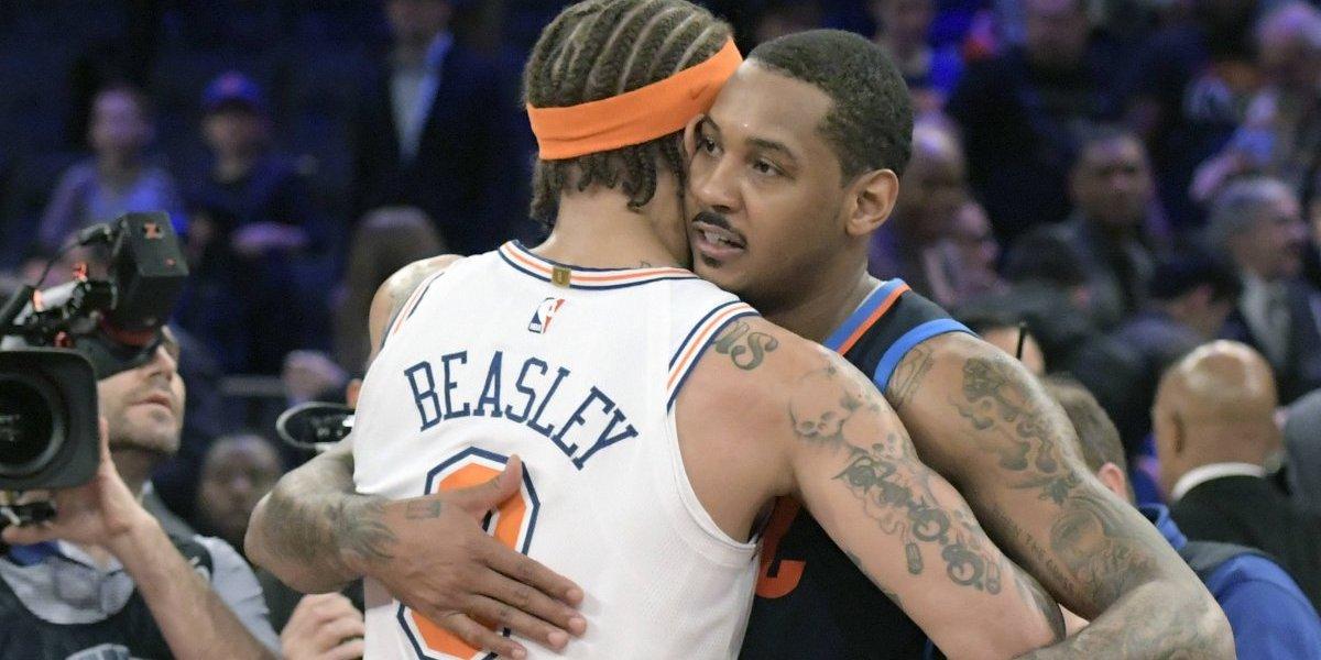 Derrota marca el regreso de Carmelo Anthony con el Thunder a Nueva York
