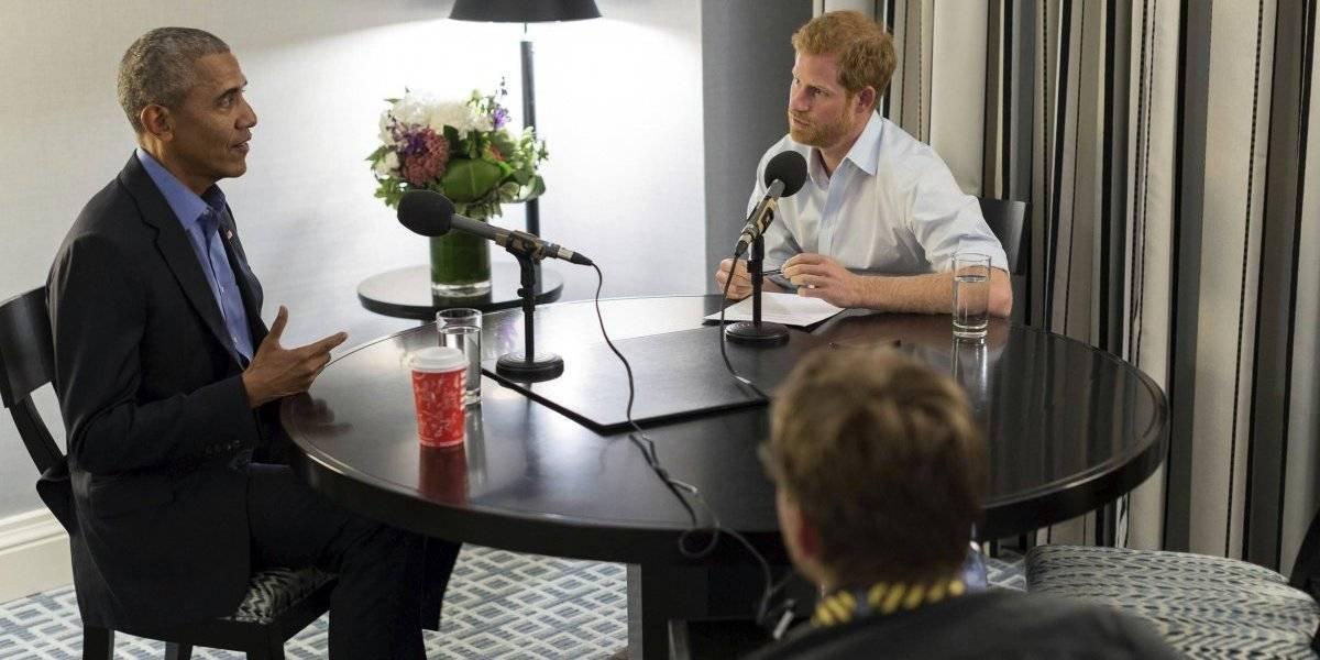 Príncipe inglés entrevista a Obama por radio