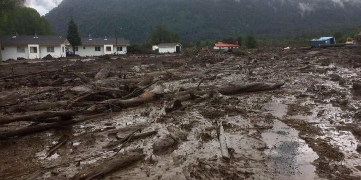 """""""Yo me comprometo"""": Luksic anuncia importante ayuda para Villa Santa Lucía y envía mensaje a los afectados por aluvión"""