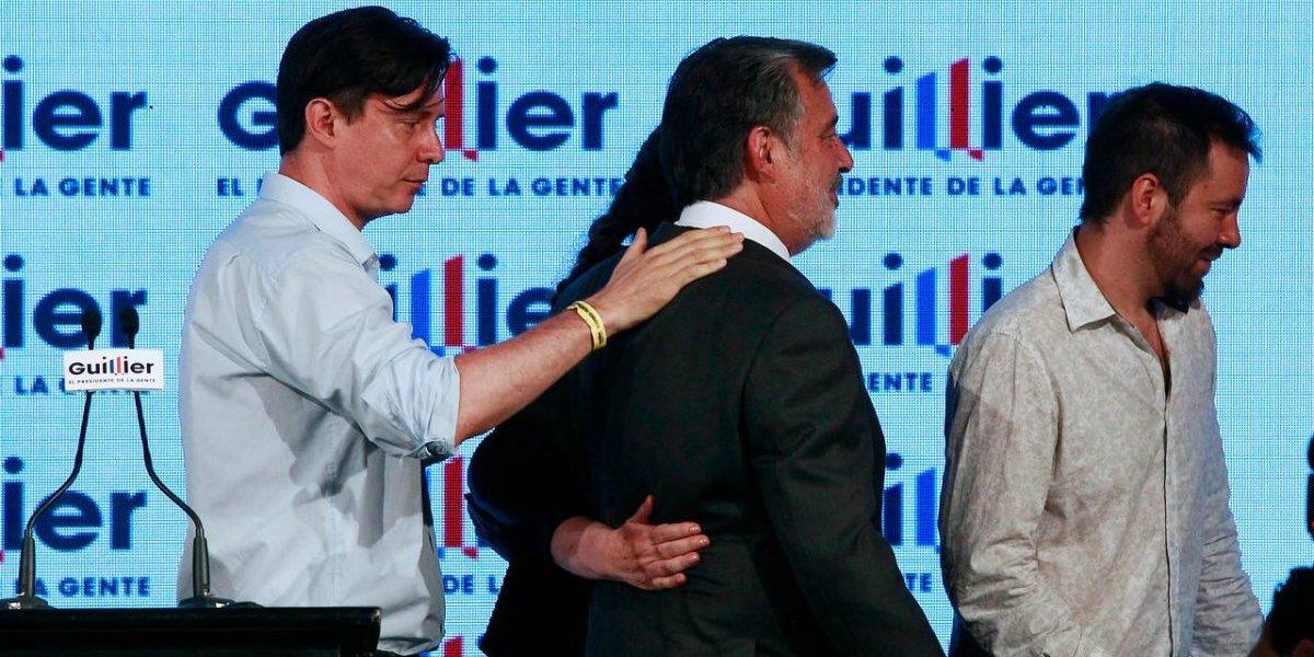 """Alejandro Guillier reconoce la derrota: """"Felicito a Sebastián Piñera por su impecable y macizo triunfo"""""""