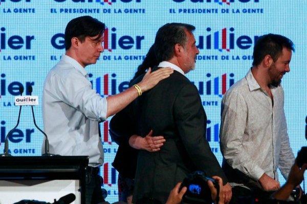Alejandro Guillier reconoció su derrota / imagen: Agencia UNO
