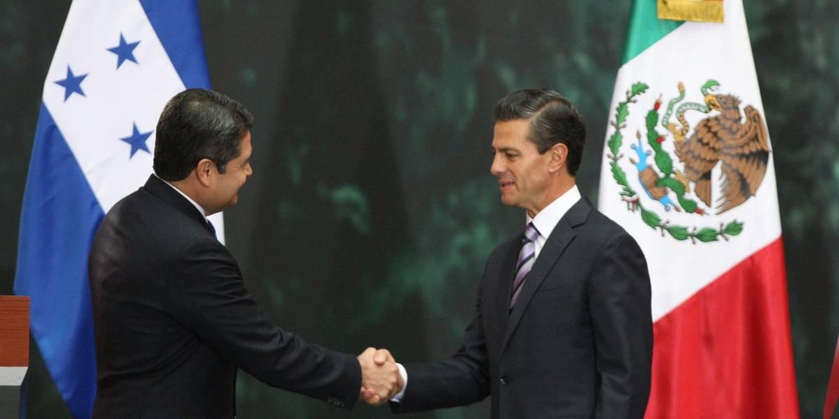 Peña Nieto expresa sus condolencias por muerte de hermana del presidente de Honduras
