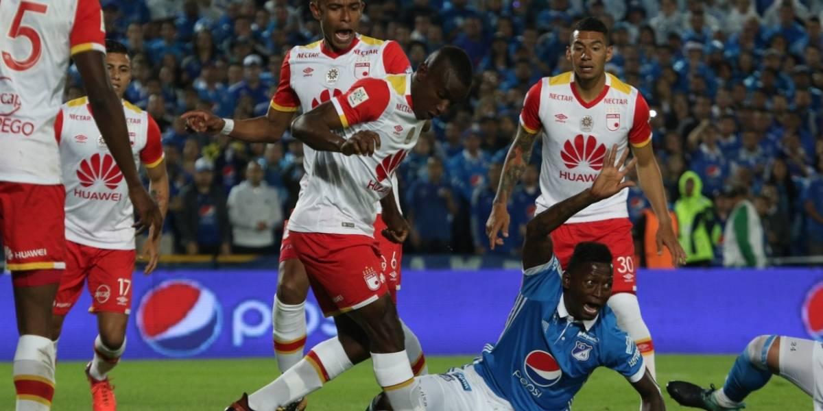 Por la final del fútbol colombiano, jugador de Santa Fe ya no se casa