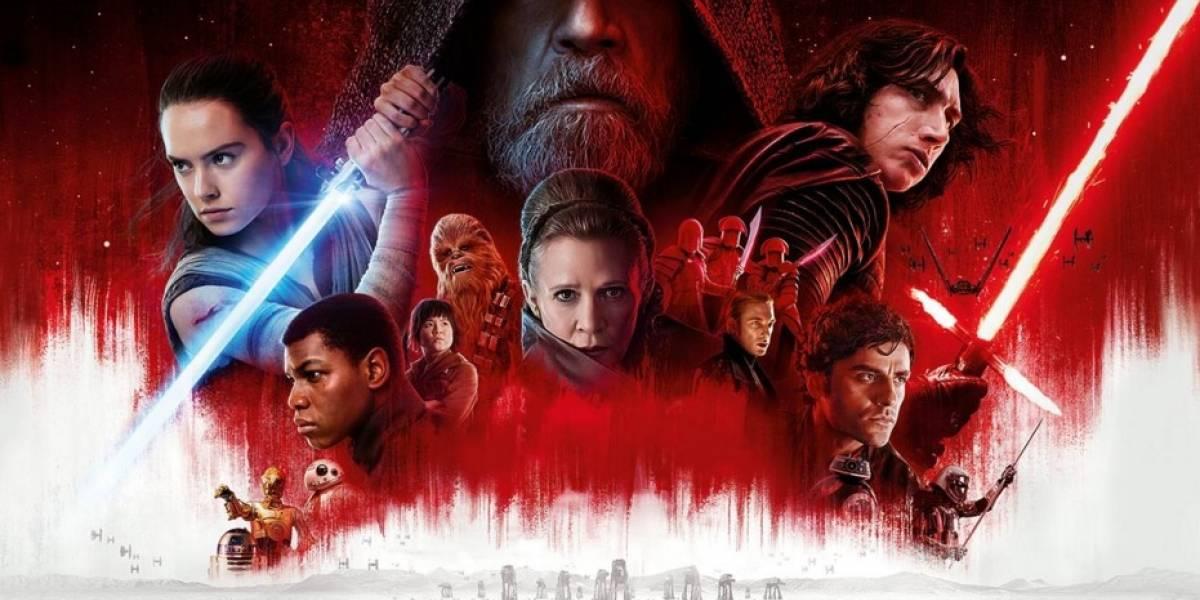 'Star Wars: The Last Jedi' logra 220 millones en EE.UU. en primer fin de semana