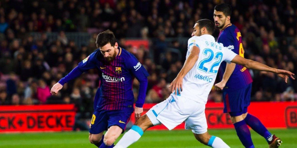 Barcelona golea a La Coruña y se alista para el Clásico español