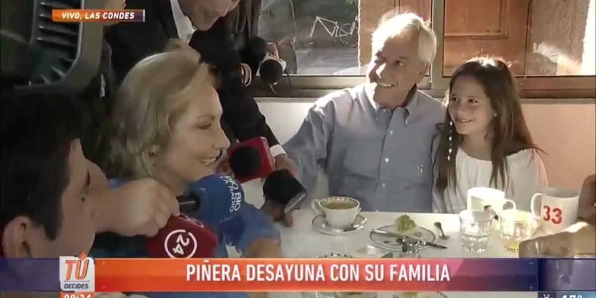 """""""¿Un beso de la abuela o un helado?"""" La sincera respuesta de los nietos de Piñera que sacó risas en redes sociales"""