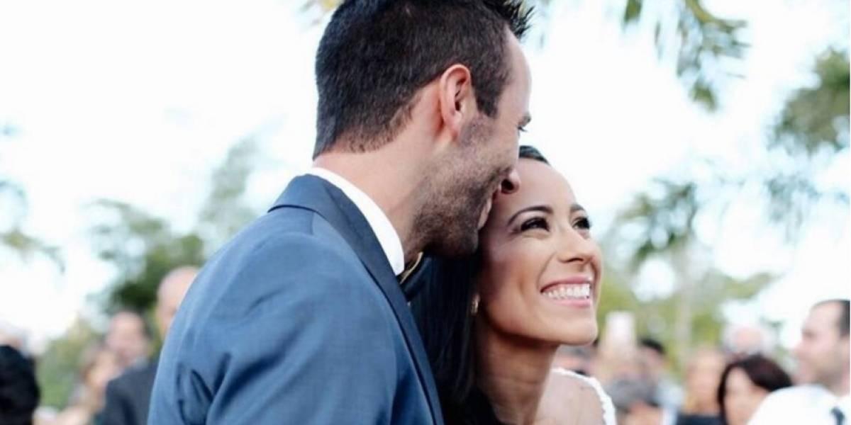 Mariana Pajón se casó y así fue su boda
