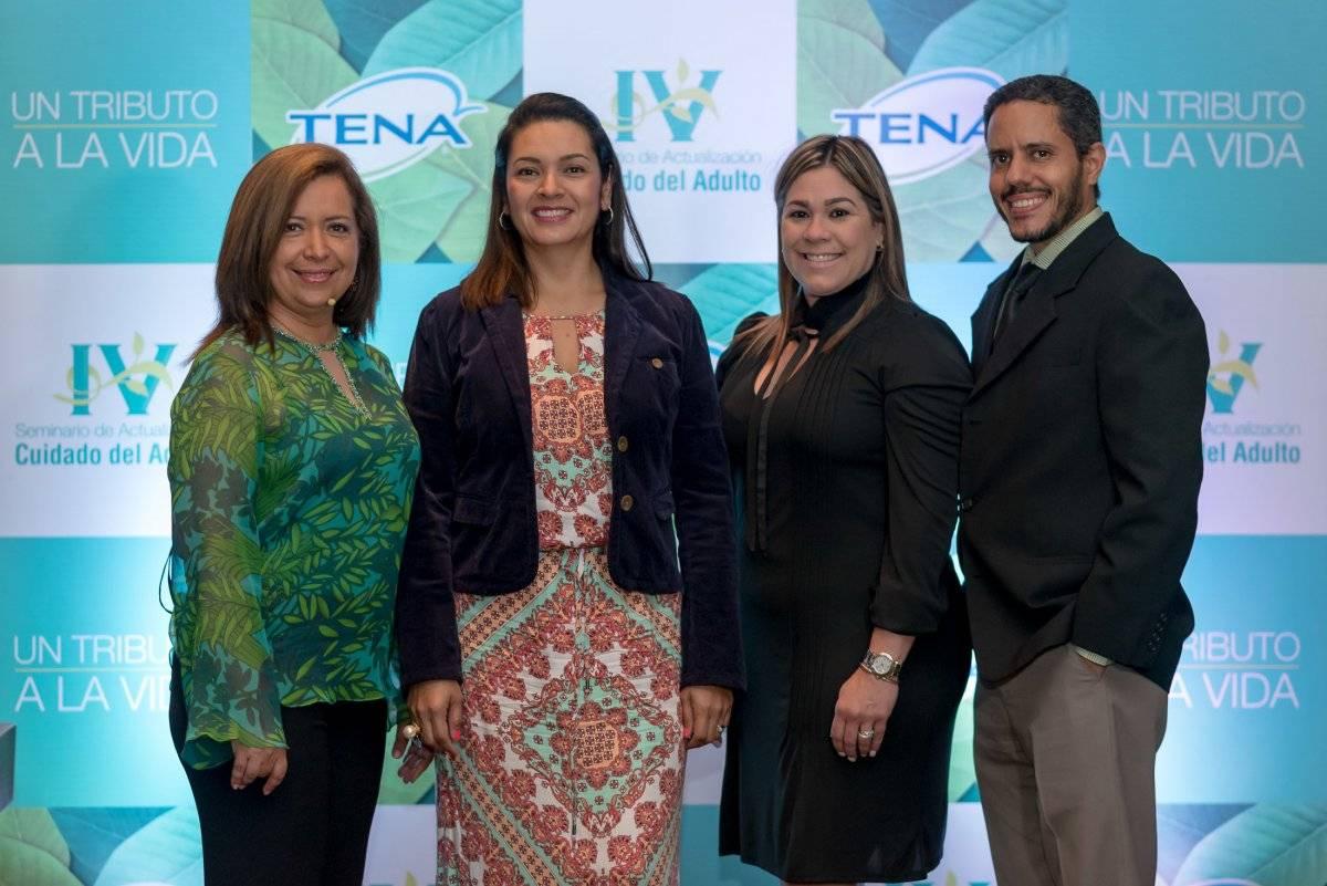 Claudia Agamez, Diana Vahos, Marga Ruíz, Ramón Emilio Almánzar