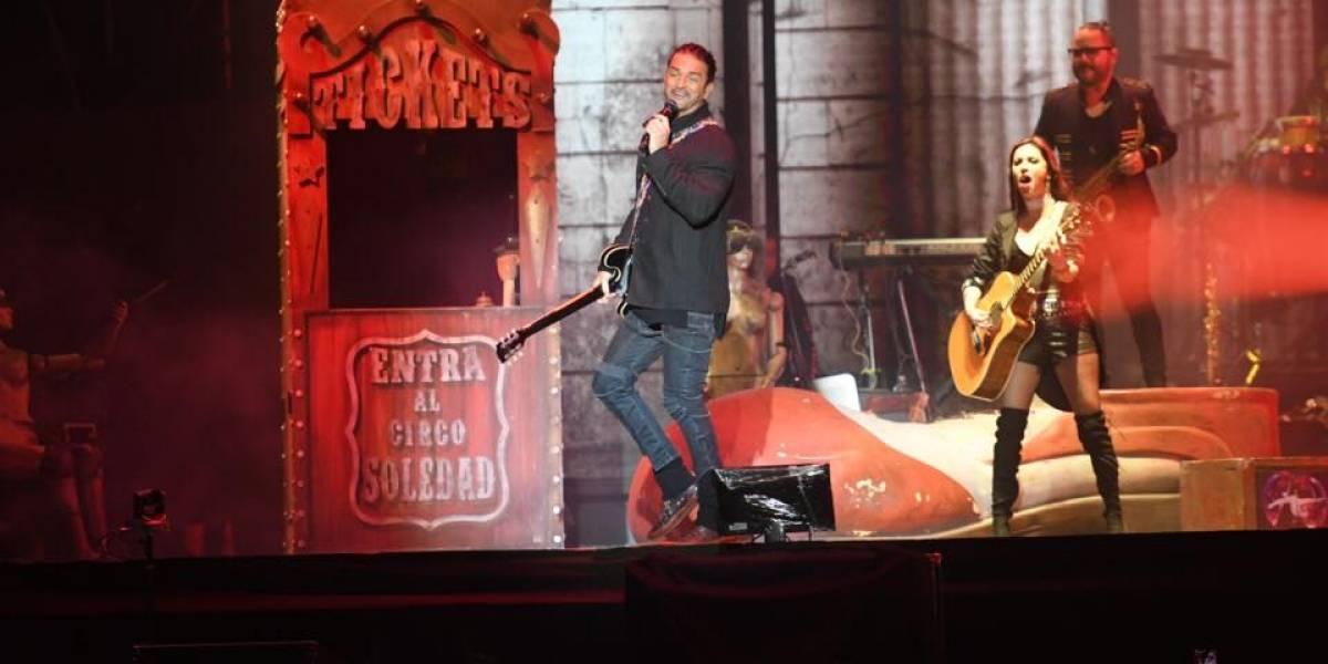 VIDEO. ¿Qué hacía Ricardo Arjona antes del concierto en Guatemala?