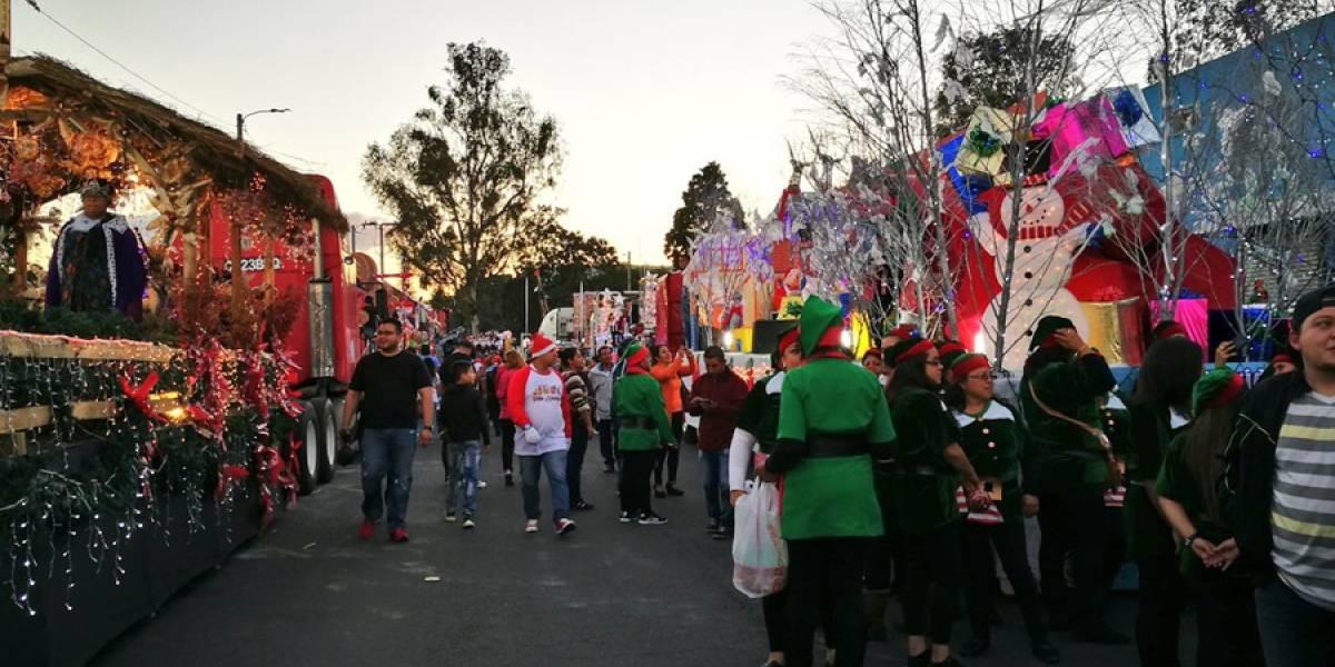 Desfile Navideño de Villa Nueva da felicidad a vecinos
